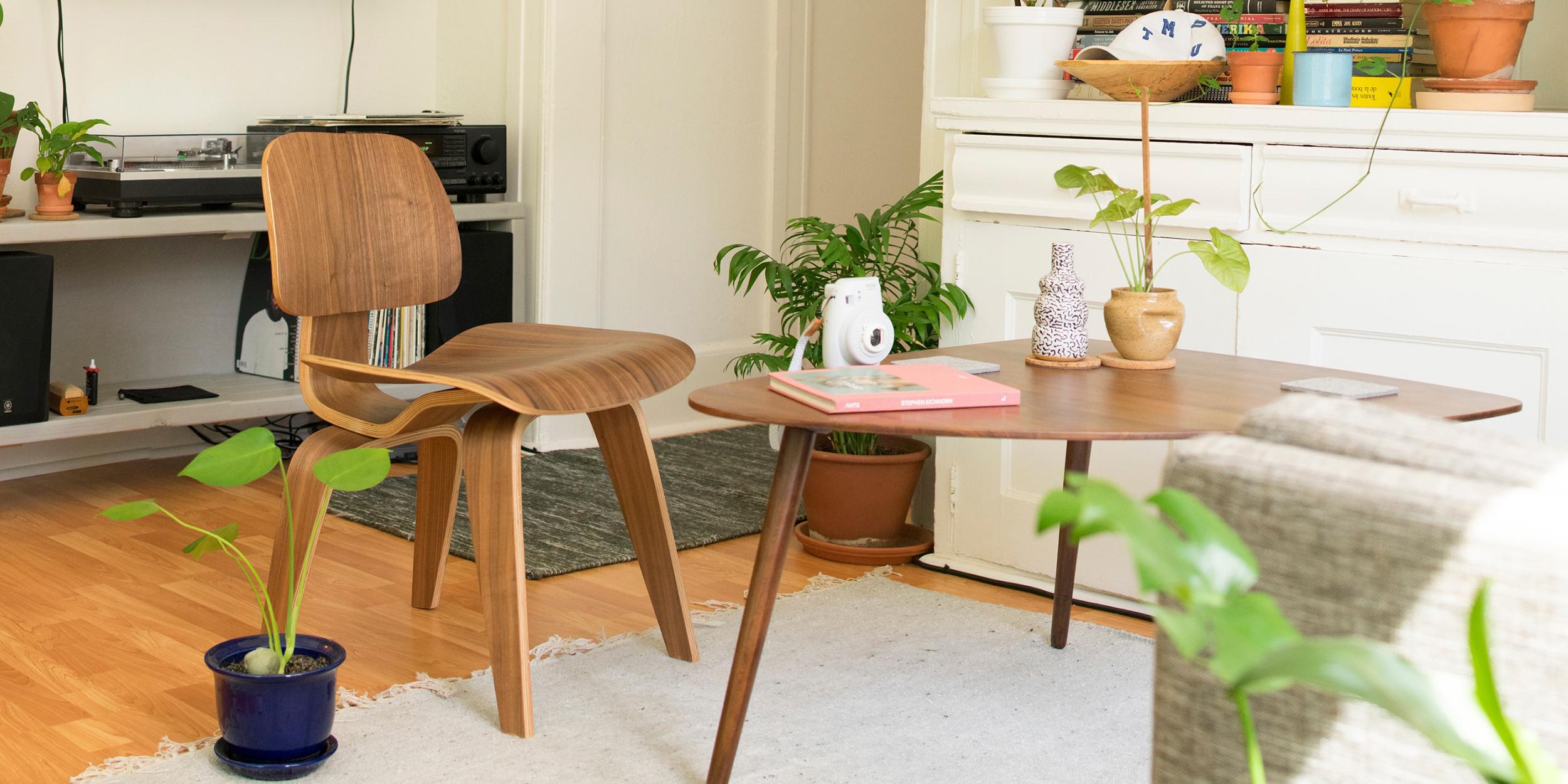 Eames Walnut LCW Chair