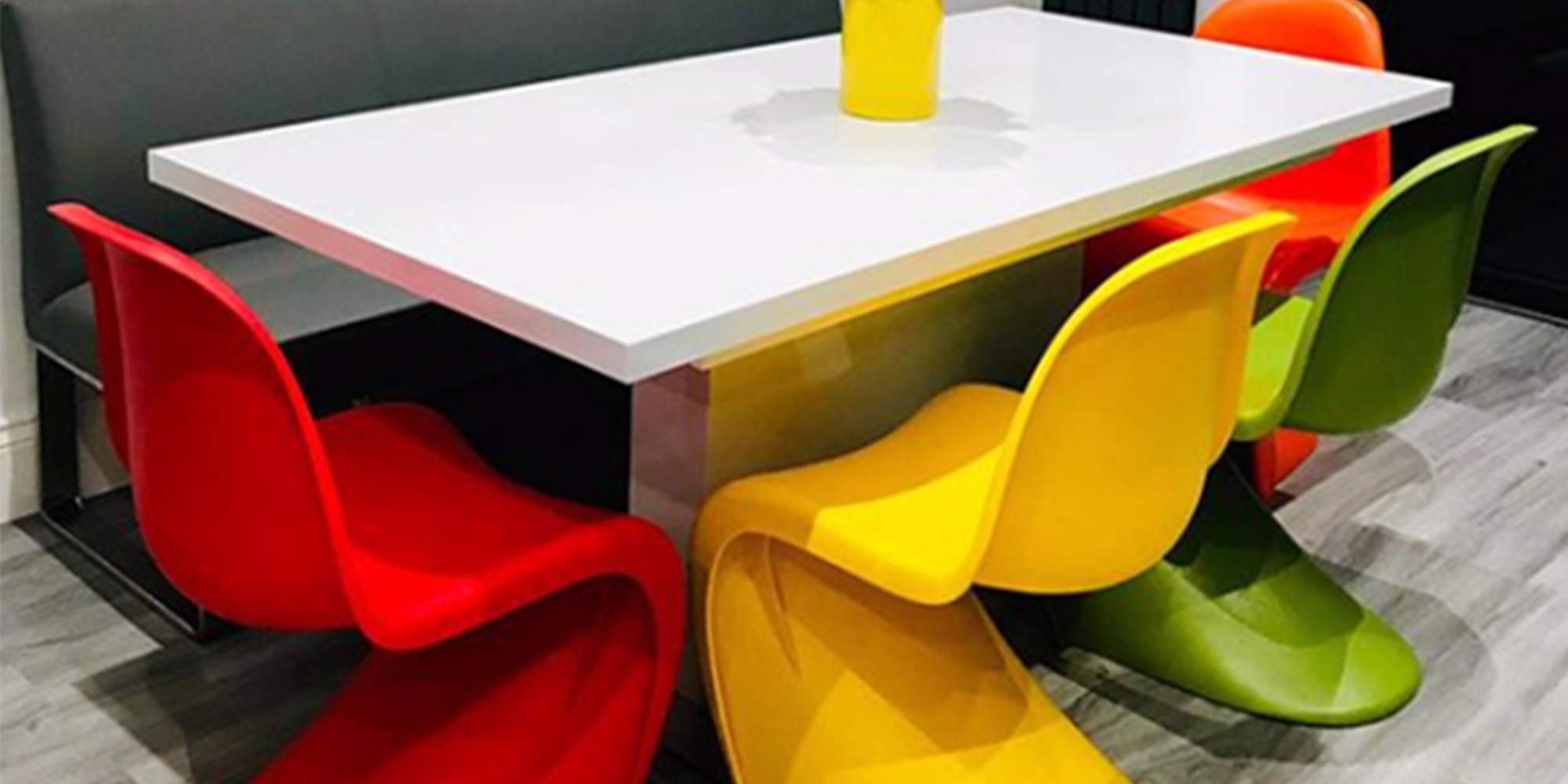 Panton S Chairs Multi Coloured