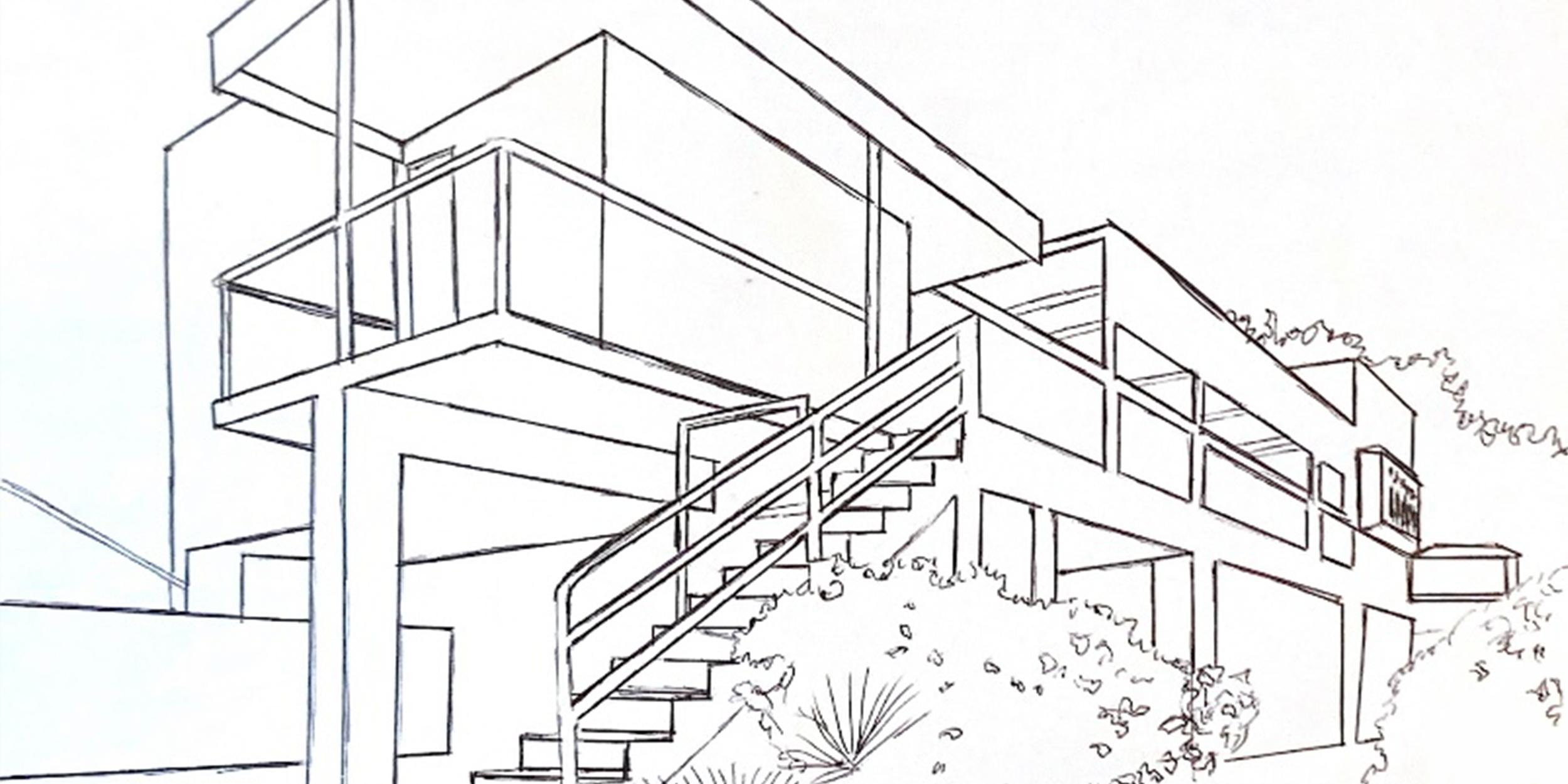 E1027 House Sketch