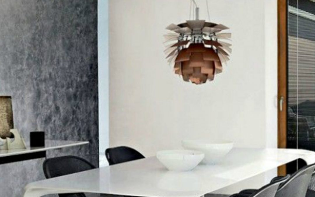 Trendy – Copper Artichoke Lamp