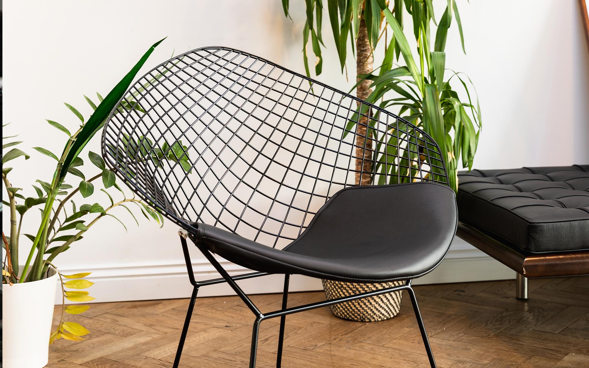 Harry Bertoia Wire Diamond Chair