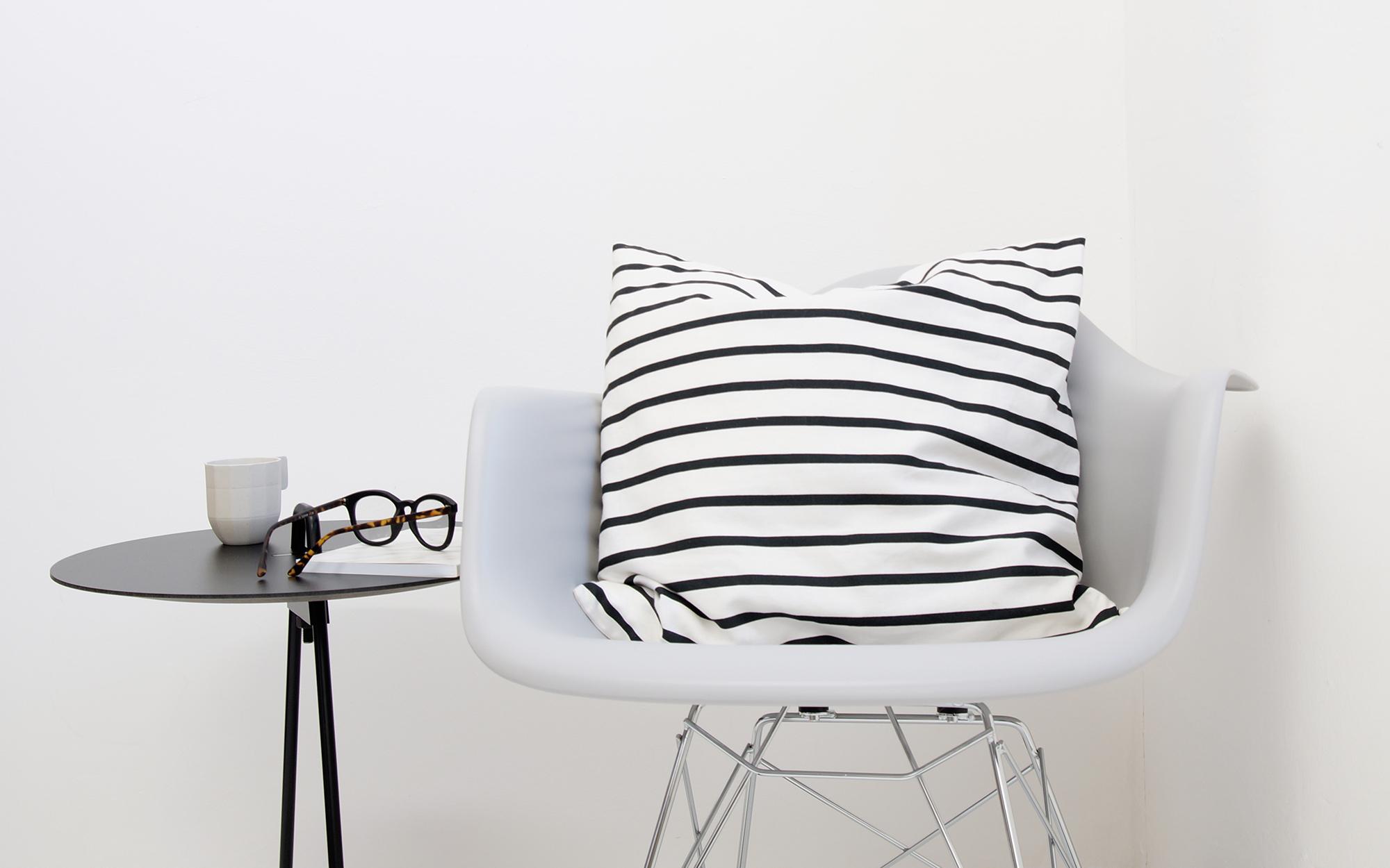 White Eames RAR Chair Close View