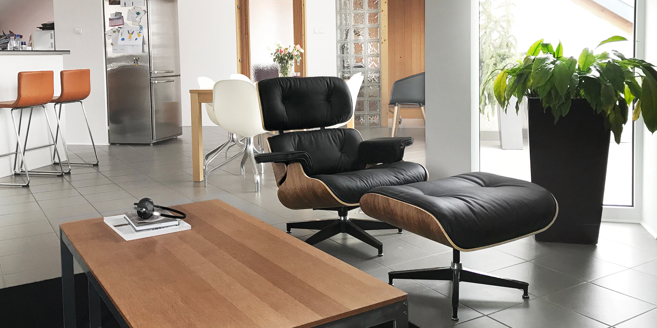 Customer Styling Our Eames Lounge Chair In Their Home