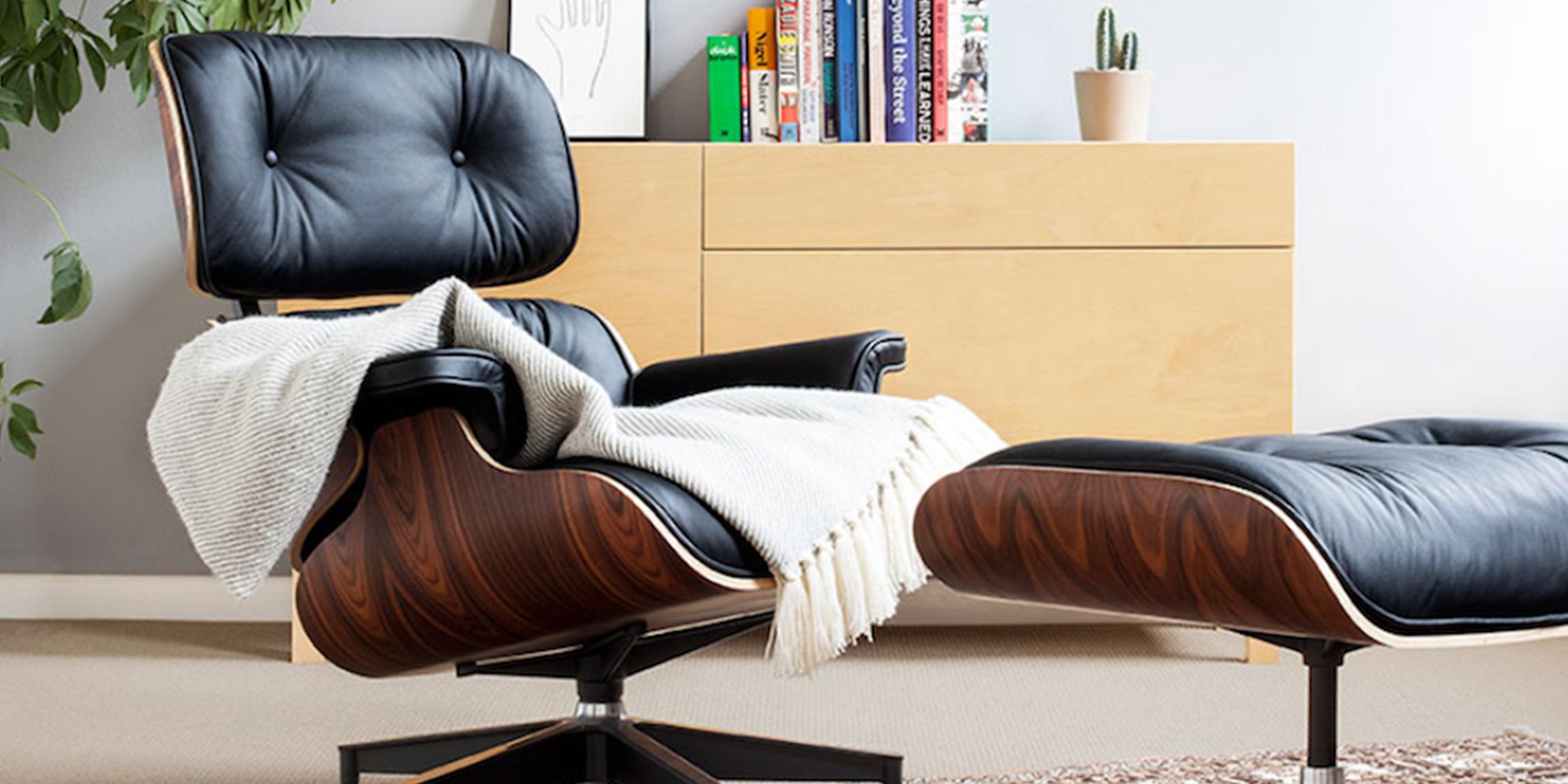 Pash Classics Eames Lounge Chair Replica