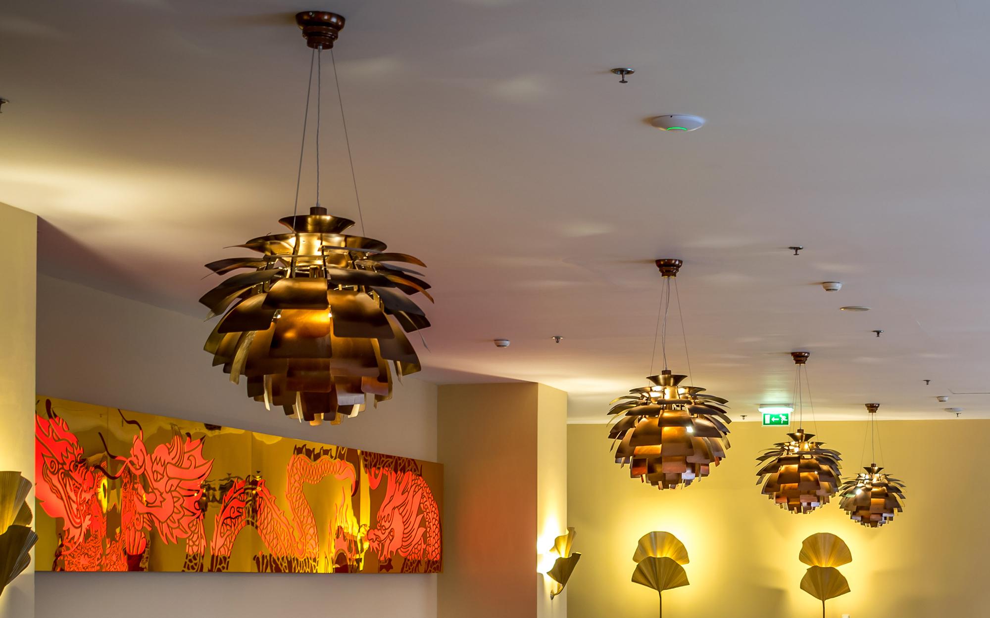 Henningsen Artichoke Lamps