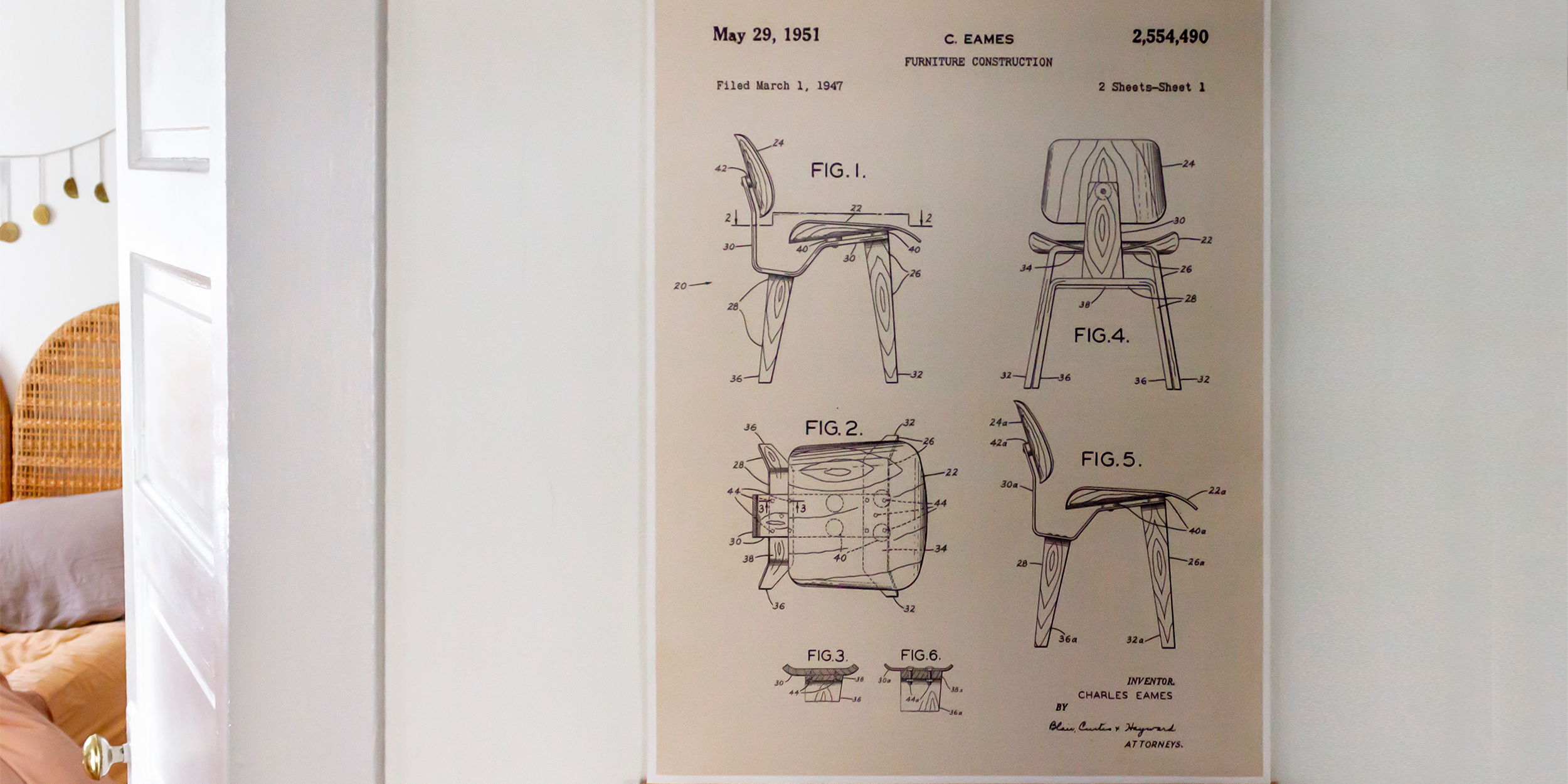 Eames DCW Chair Poster