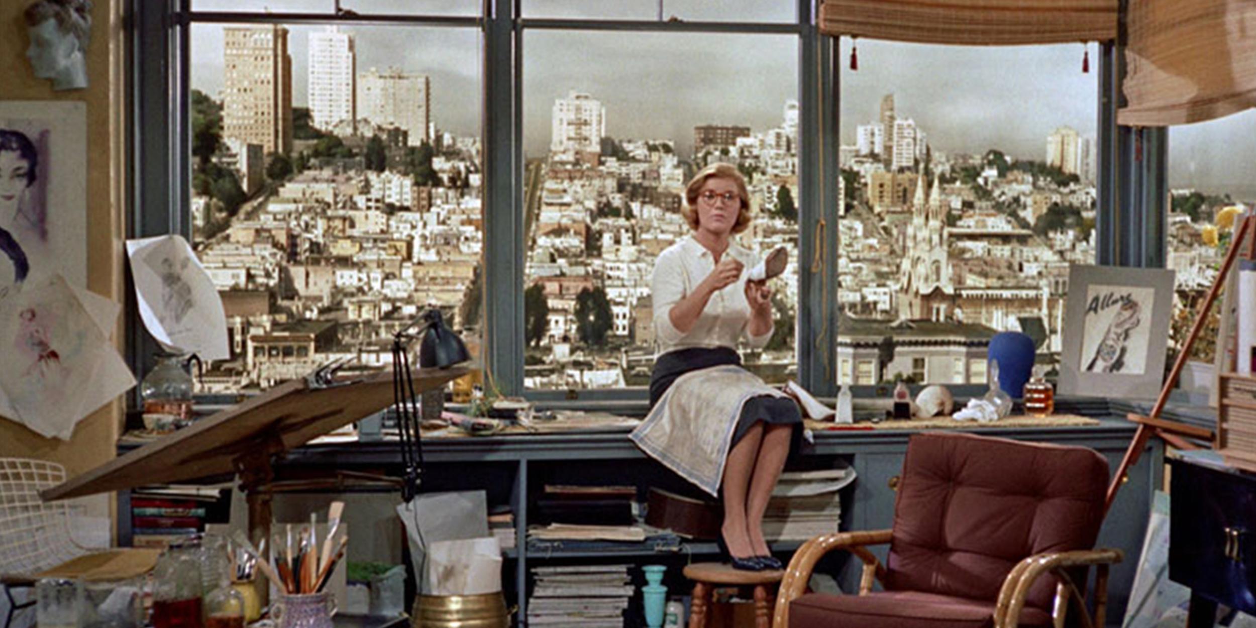 Snapshot from Hitchcock's film Vertigo