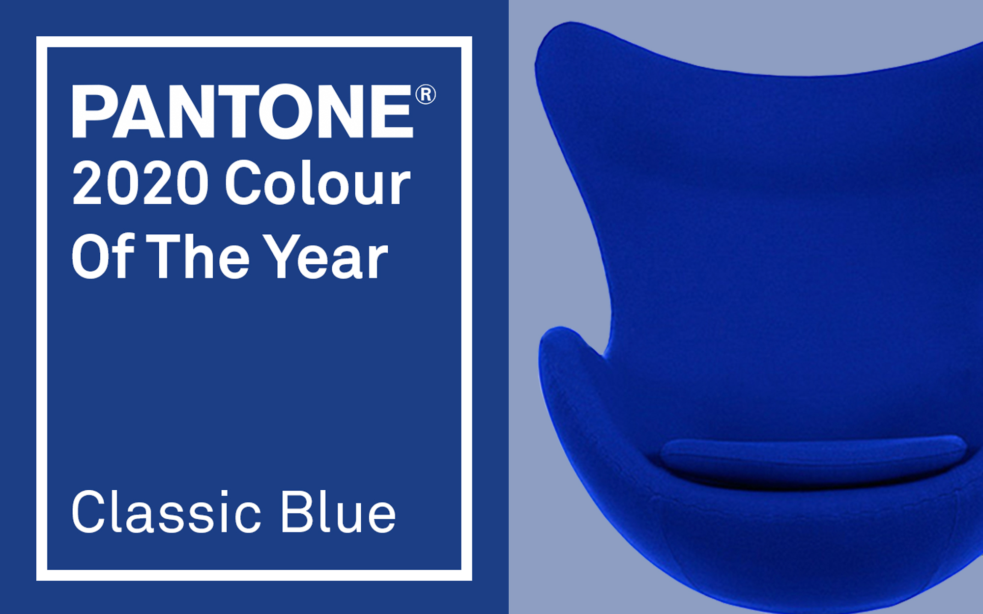 Pantone Colour Of The Year Classic Blue