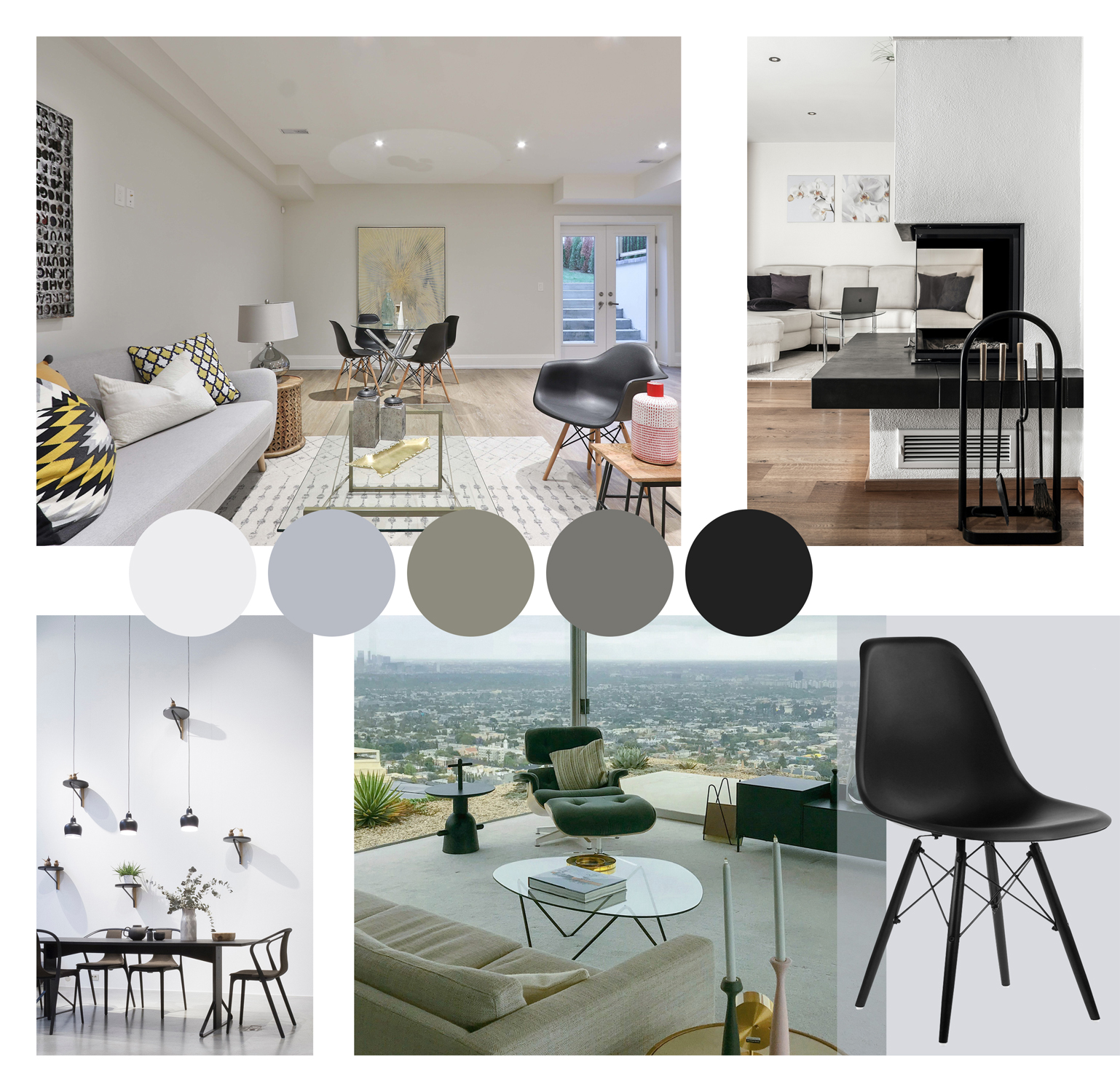 Eames Eiffel Chairs Used In Modern Homes