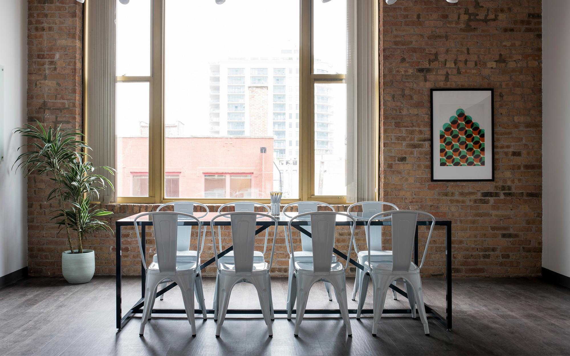 A Contemporary Industrial Interior
