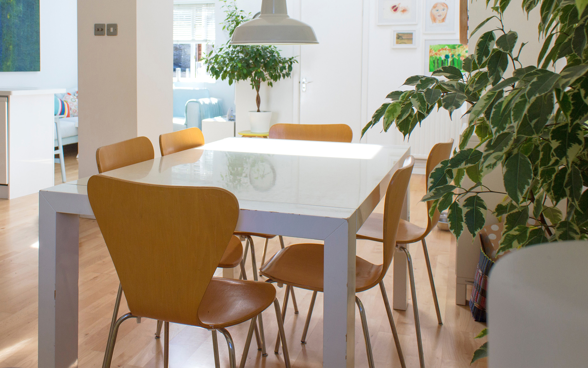 Dining Room Featuring Series 7 Chairs