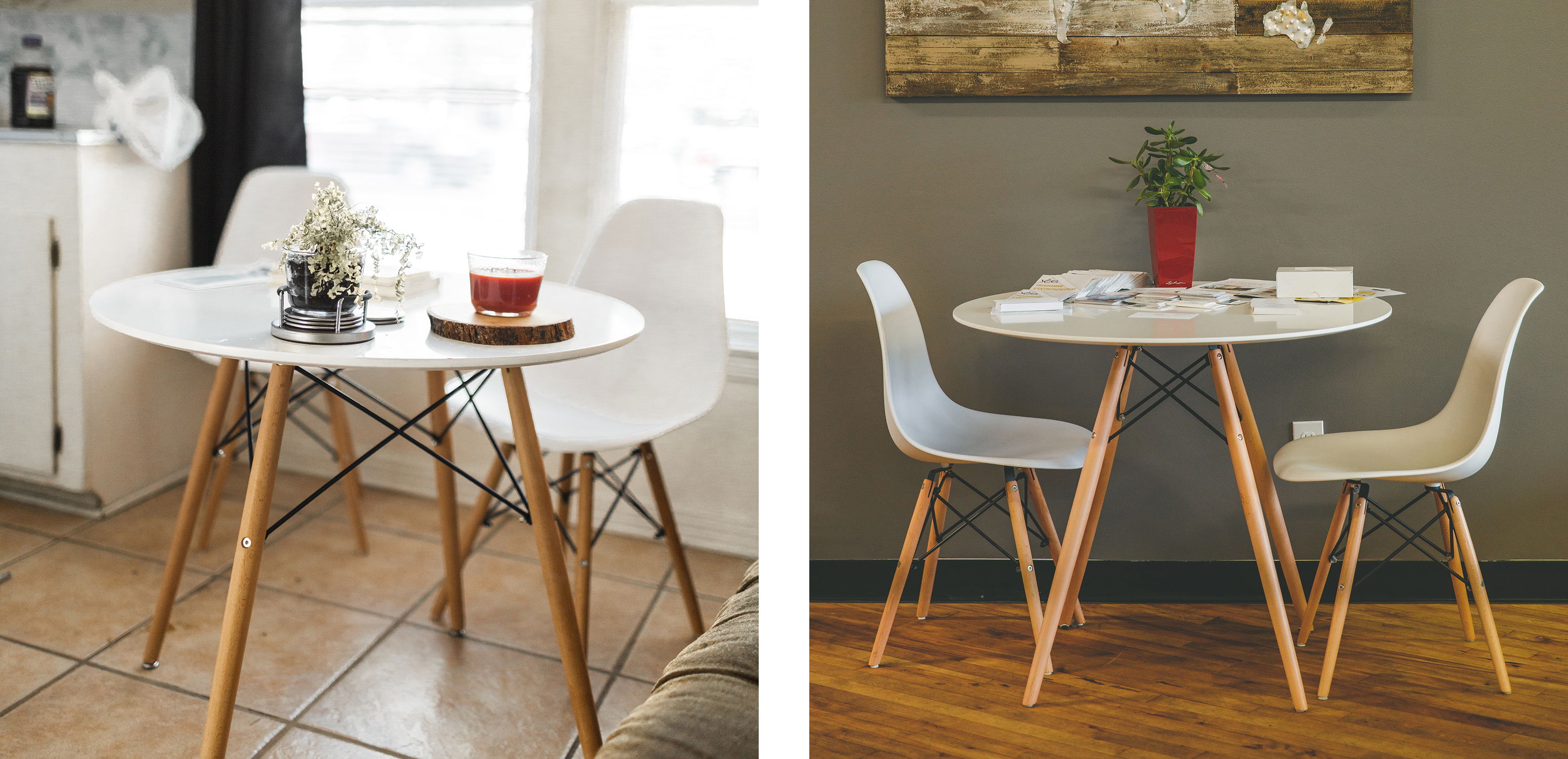 Styling Eames Dining Tables & Dining Chairs