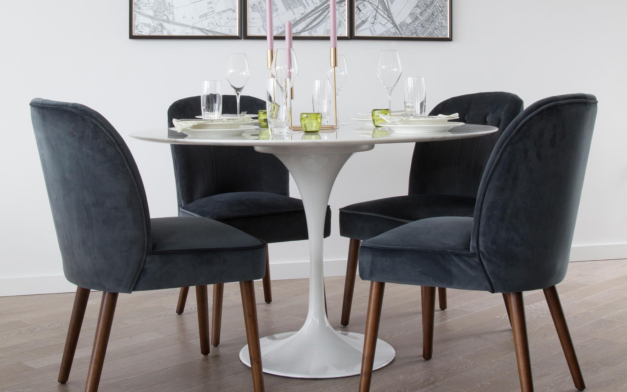 Saarinen Tulip Table Dining Room
