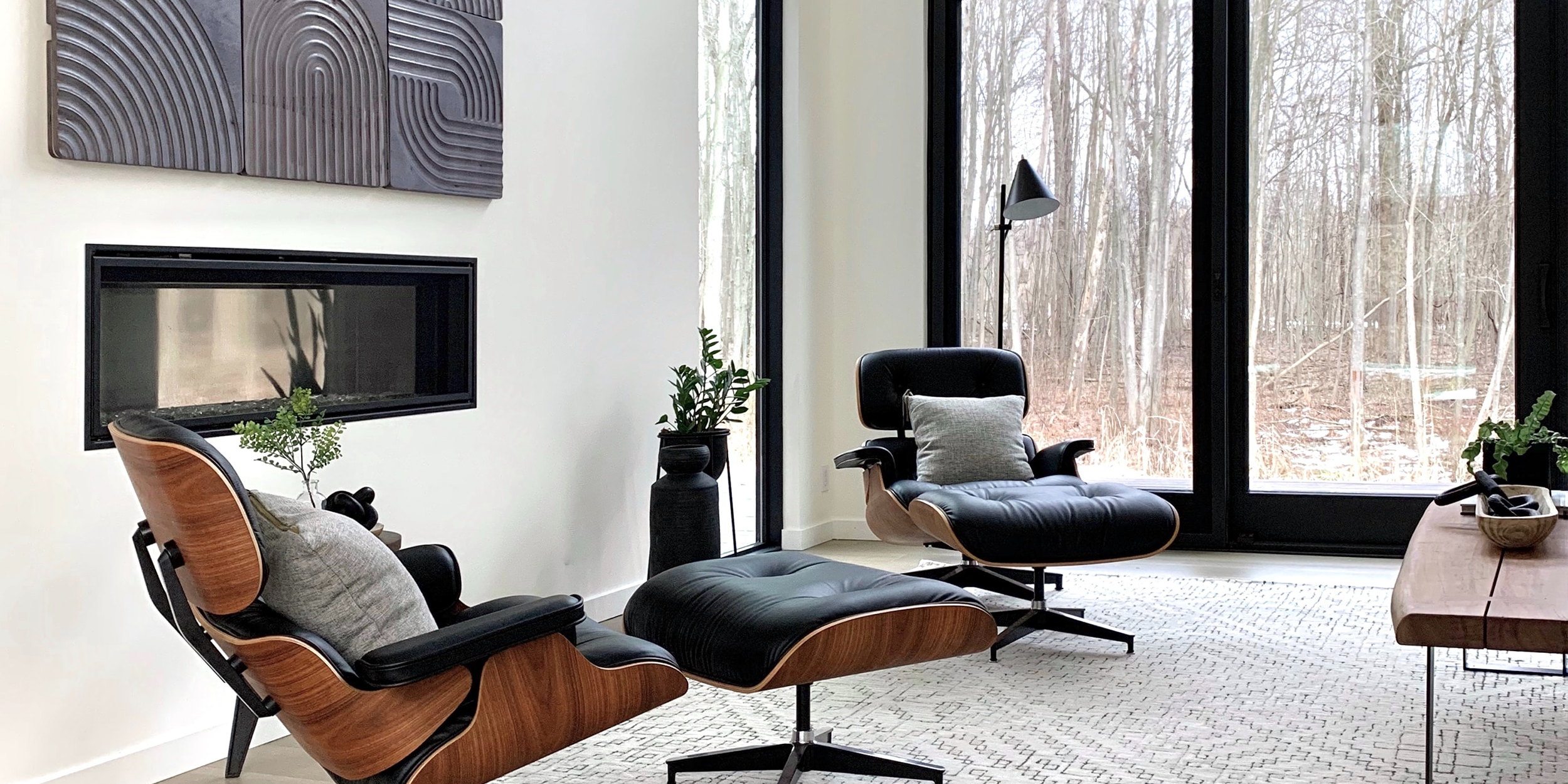 Eames Lounge Chair featured in a living interior