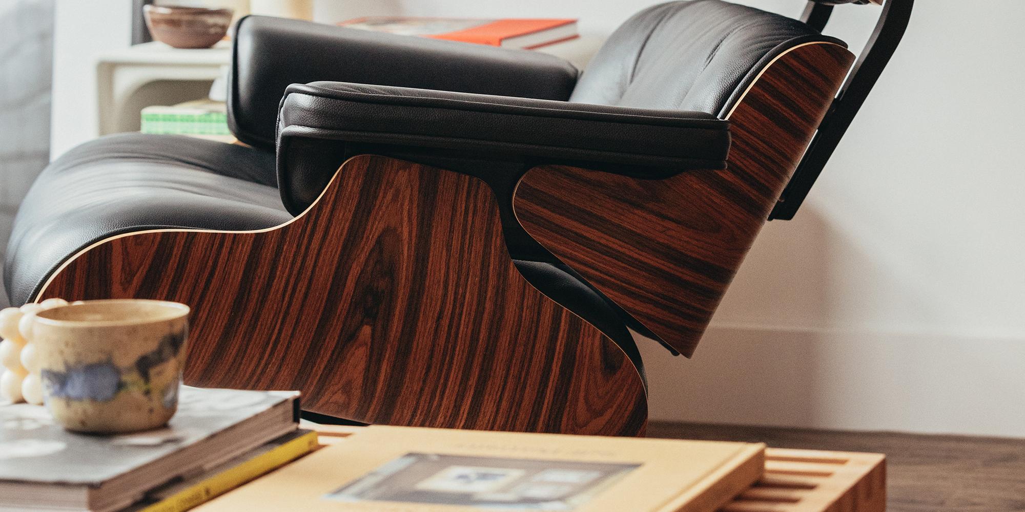 Eames Lounge Chair Close View