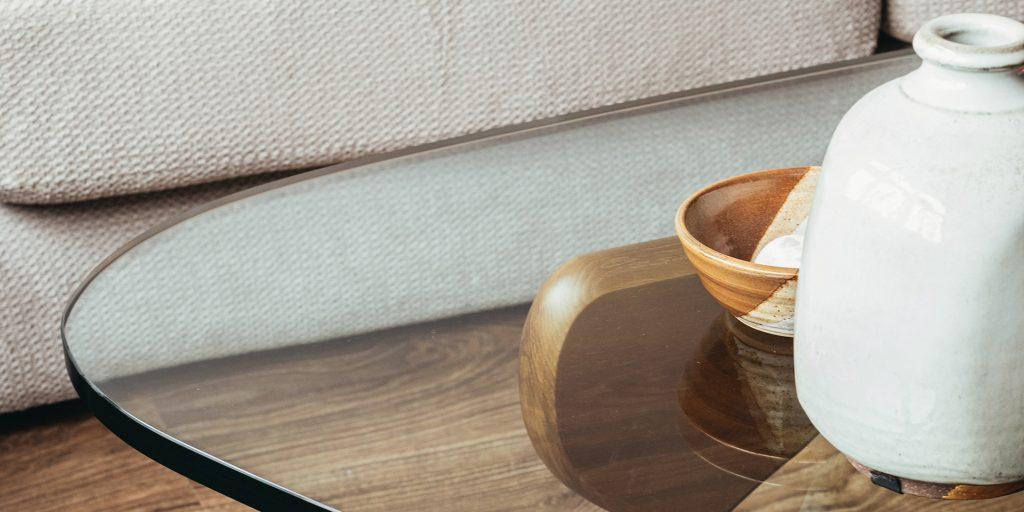 Noguchi Coffee Table Close View